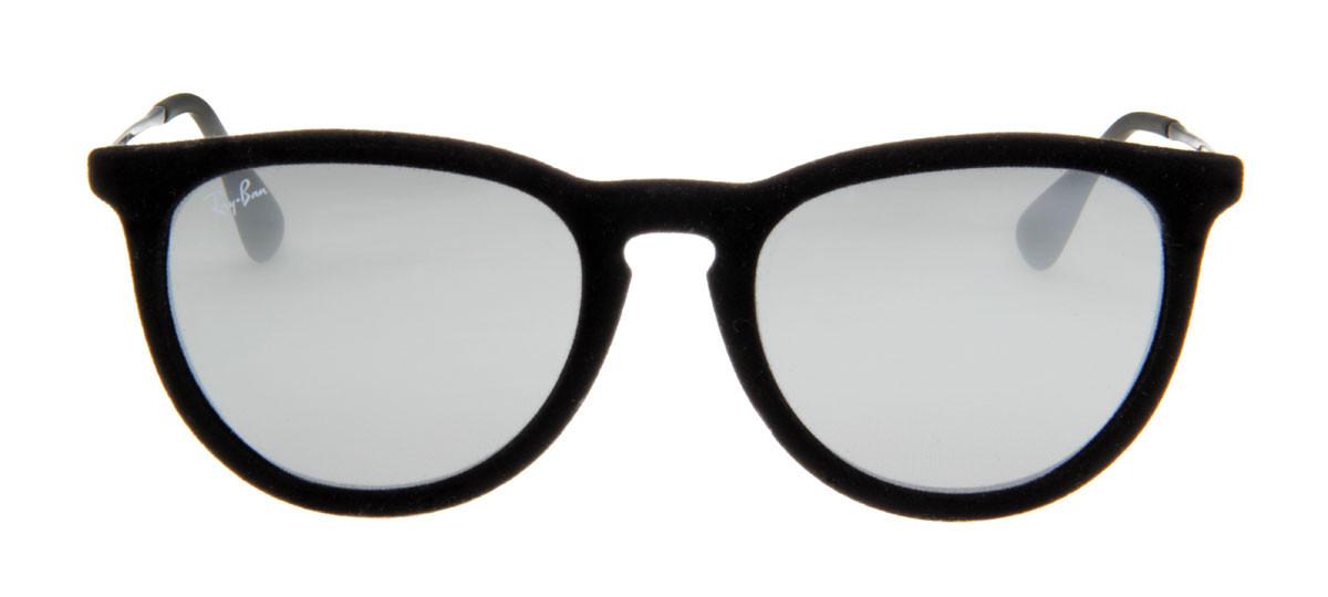 2100ea375 Óculos de Sol Ray Ban Erika Velvet Veludo Preto. Loading zoom