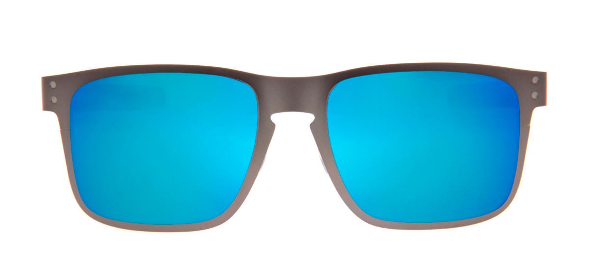 Oakley Holbrook Metal 55 - Grafite Fosco e Azul - OO4123-07. Loading zoom 34c5b3e6f0c