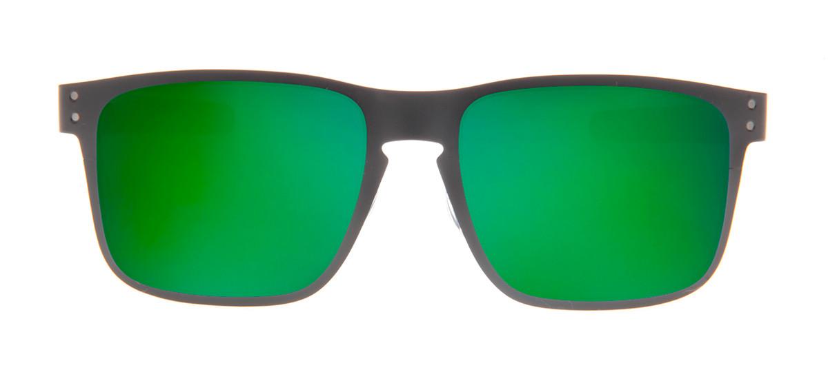 Oakley Holbrook Metal 55 - Preto Fosco e Verde - OO4123-04 - QÓculos.com 13fc1c7d82c