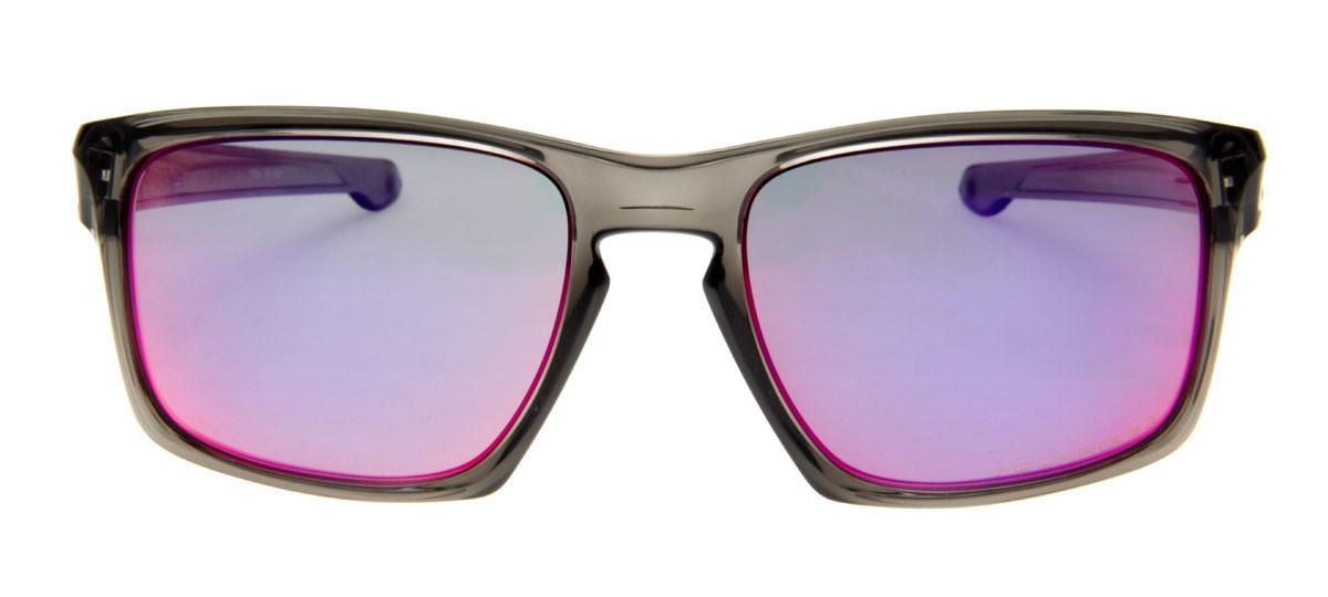 Oakley Sliver Esporte - Lente Polarizado e Espelhado Azul e Roxo ... 16926816d3