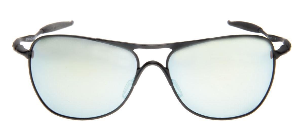253c2af24 Oakley Crosshair Esporte - Lente Espelhada e Polarizada Verde Claro ...
