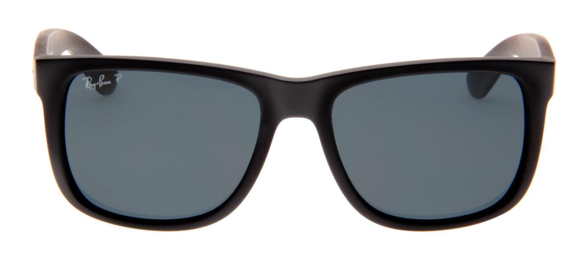 b7d5f1450 Ray Ban RB4165 Justin 54 - Preto Fosco - 622/2V. Abrir espelho virtual.  Óculos de Sol ...