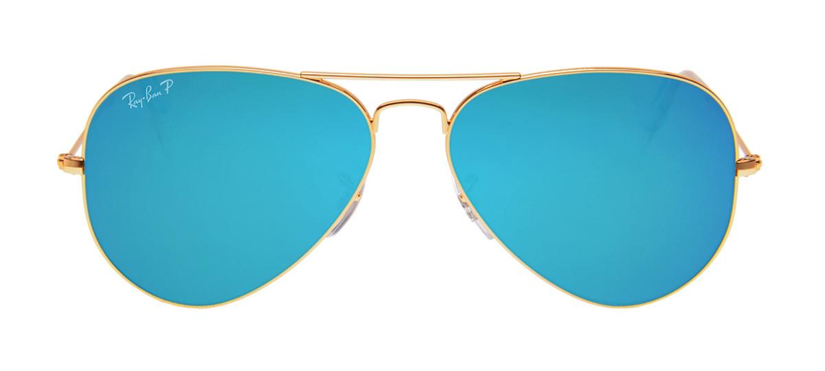 903a1b464 Ray-Ban RB3025 Aviador - Lente Polarizada e Espelhada Azul - QÓculos.com