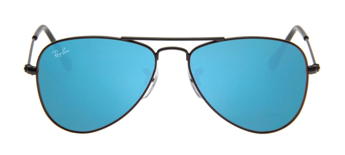 Ray Ban RB3025 Aviator Aviador - Lente Espelhada Azul - QÓculos.com 77e7d57507