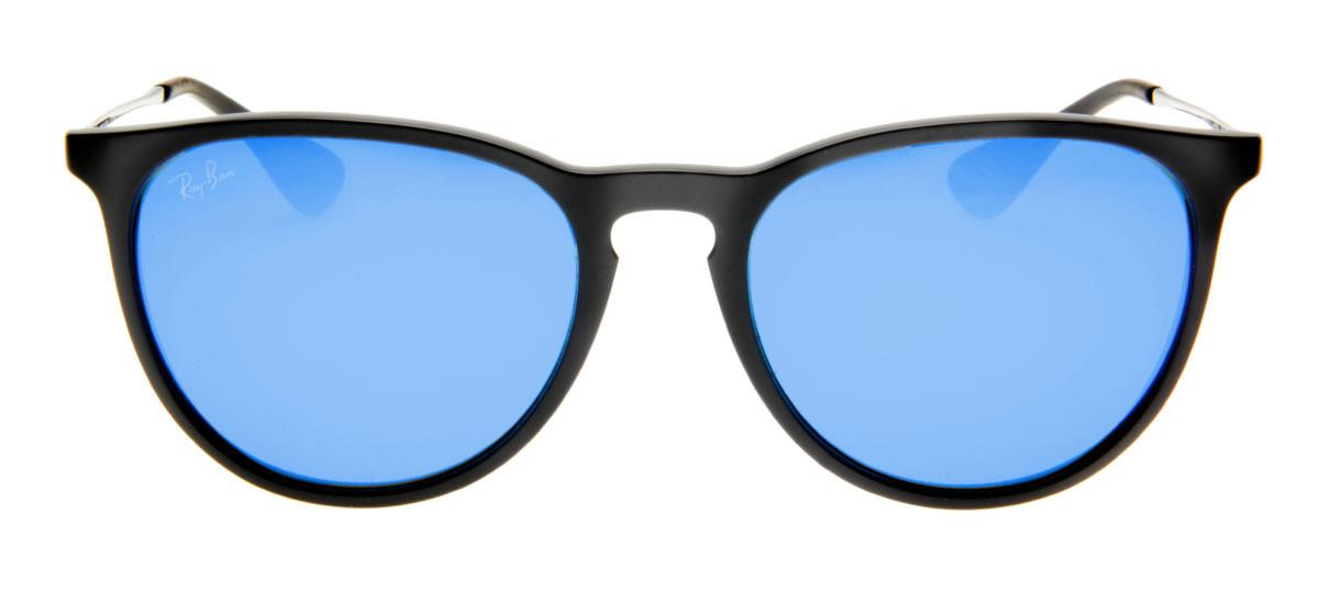 1a3550516b7be Ray Ban RB4171 Erika Gatinho - Lente Espelhada Azul - QÓculos.com