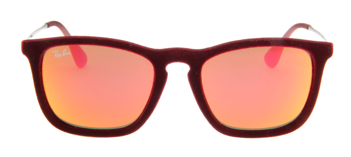 5bf66c03fbe3d Ray-Ban RB4187 Chris Velvet 54 - Vinho - 6078 6Q. Loading zoom. Ray-Ban  RB4187 Chris ...