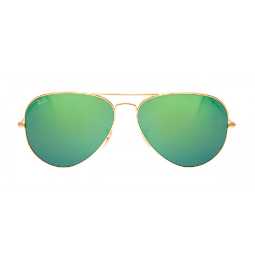 Ray-Ban RB3025 Aviador 58 - Dourado / Verde Espelhado - 112/19