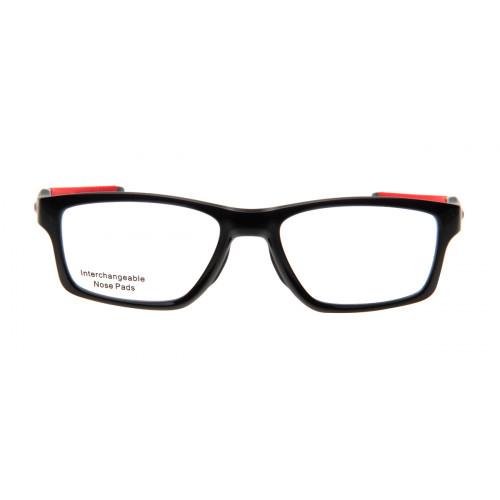 Oakley OX8090 Crosslink 03 55 - Preto e Vermelho