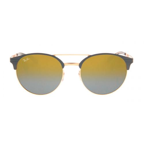 Ray-Ban RB3545 54 - Cinza e Dourado - 9007/A7