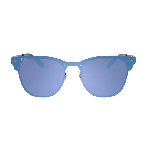 Óculos Ray-Ban Hexagonal Azul e Preto - Óculos de Sol Ray-Ban RB3576 ... 7e50ae393b