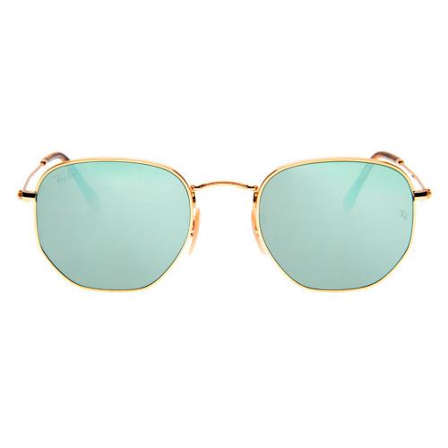 45d807269316d Óculos Ray-Ban - Óculos Hexagonal Dourado e Prata em 12x SEM JUROS ...