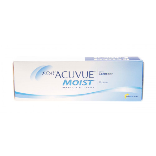 Lente de Contato Johnson & Johnson 1 Day Acuvue Moist - Incolor