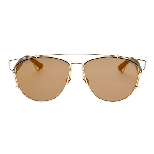 5da4233231e Óculos Christian Dior Technologic Fashion Lente Espelhada Bege ...