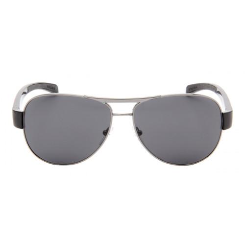 0feec31af9ef0 Prada SPS51L - Óculos de Sol Prada Masculino Cinza Espelhado ...