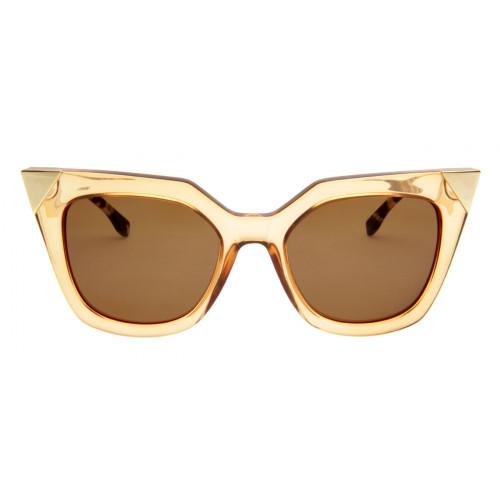 Óculos Fendi Iridia FF0060/S Dourado Estilo Gatinho