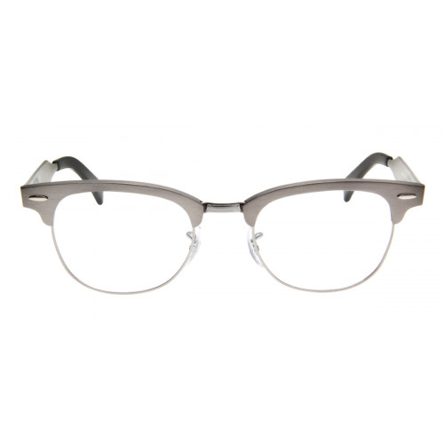 Ray-Ban RB6295 Clubmaster Aluminum 51 - Cinza - 2808 86df89594f