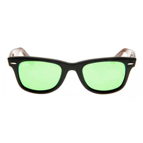 1b92b8eaf386d Ray Ban RB2140 Wayfarer - Lente Espelhada Verde - QÓculos.com