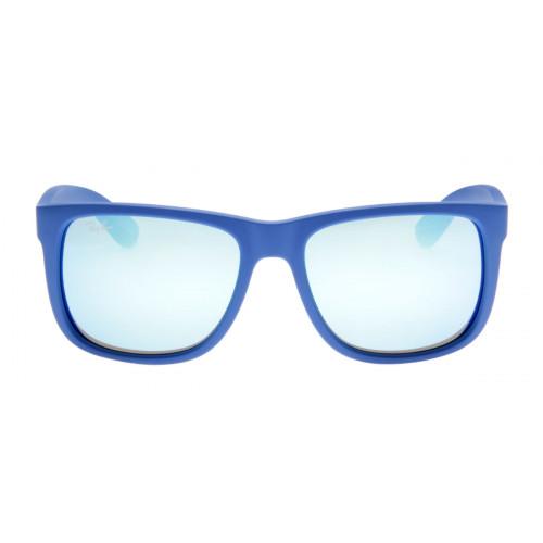 56361150dbde6 Ray-Ban RB4165 Justin - Lente Espelhada Azul - QÓculos.com