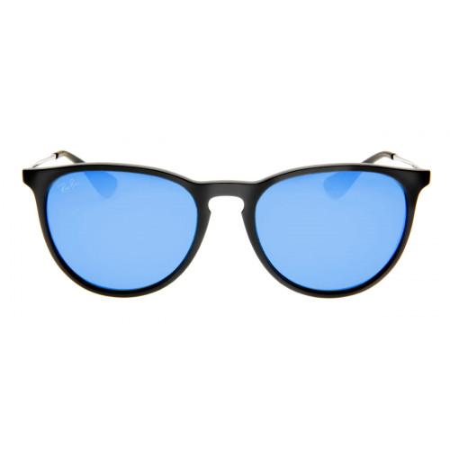 Ray Ban RB4171 Erika Gatinho - Lente Espelhada Azul - QÓculos.com 6ba15d5ca1
