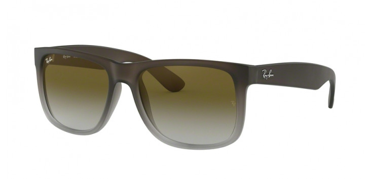 Ray-Ban RB4165L Justin  55 - Marrom e Cinza- 854/7Z