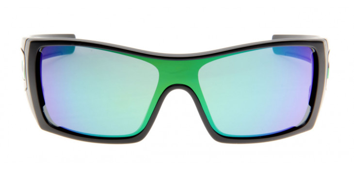Oakley Batwolf - Preto Fosco / Emerald Iridium - OO9101-29