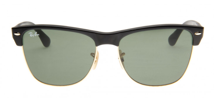 Ray-Ban RB4175 Clubmaster Oversized 57 - Preto - 877