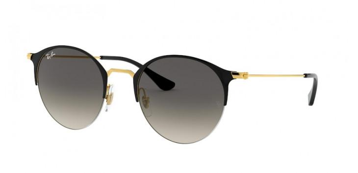 Óculos Ray-Ban RB3578 50 - Preto e Dourado - 187/11