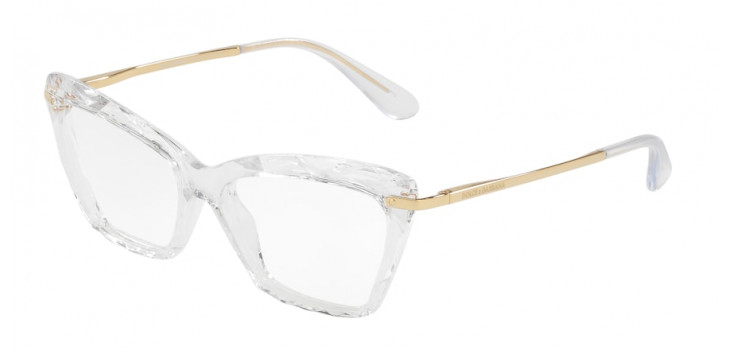 Óculos Dolce & Gabbana DG5025 53 - Translúcido - 3133