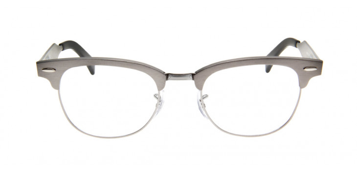 Ray-Ban RB6295 Clubmaster Aluminum  49 - Cinza - 2808
