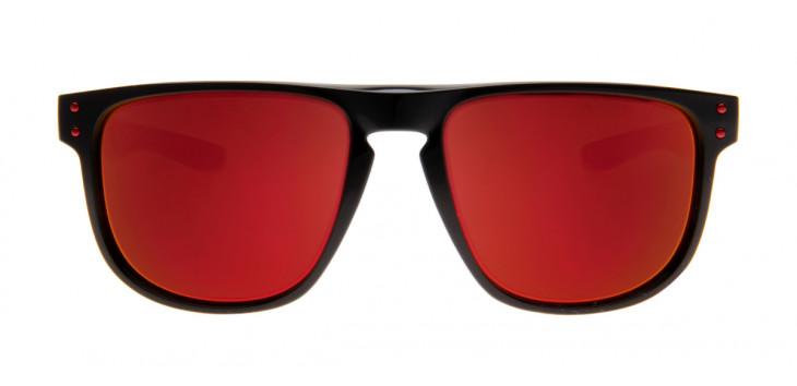 22b8955d5 Óculos Oakley OO9377 Holbrook R 55 - Preto e Vermelho - 07 - Polarizado ...