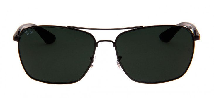 900286976 Óculos Ray-Ban RB3531L 64 - Preto Fosco - 006/71