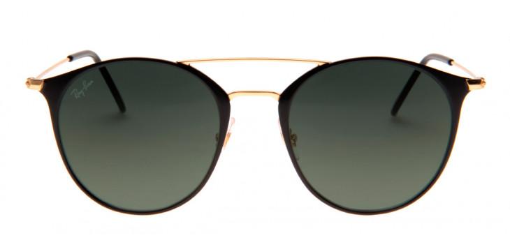 Óculos Ray-Ban RB3546 52 - Preto e Dourado - 187 71 d43e28f4b6