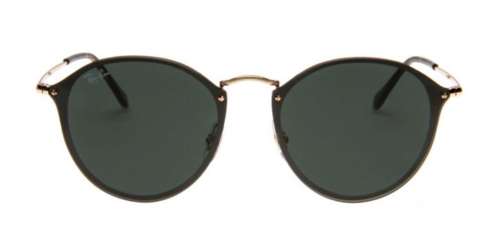 d93157e1d0 Óculos Ray-Ban Hexagonal Dourado e Preto - Óculos de Sol Ray-Ban ...