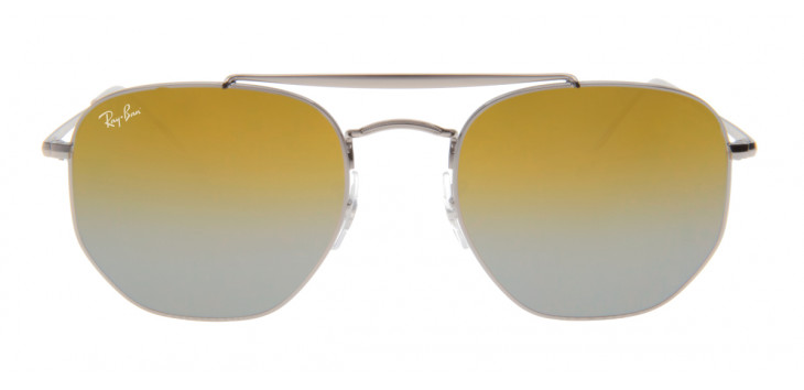 d968891b0 ... Óculos Ray-Ban RB3648 Marshal 54 - Cinza e Dourado - 004/I3