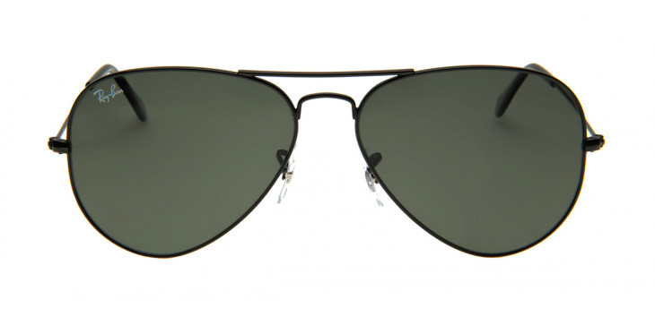 Óculos de Sol Aviador Preto Fosco