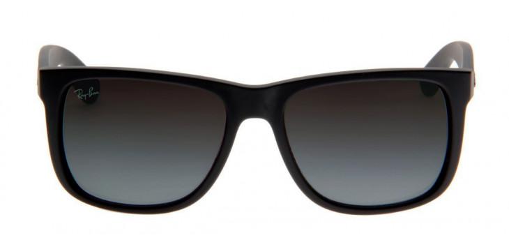 Ray-Ban 4165 Óculos Ray-Ban Justin Preto Fosco