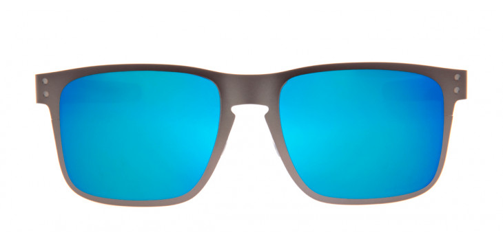Oakley Holbrook Metal 55 - Grafite Fosco e Azul - OO4123-07