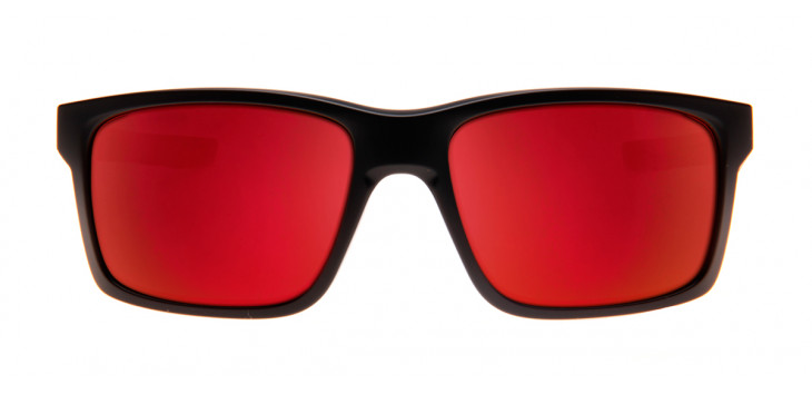 Oakley Mainlink 57 - Preto Fosco e Espelhado Vermelho - OO9264-07