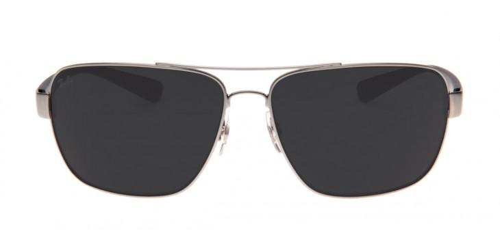 Óculos Ray-Ban RB3567L 66 - Prata e Azul - 041/87