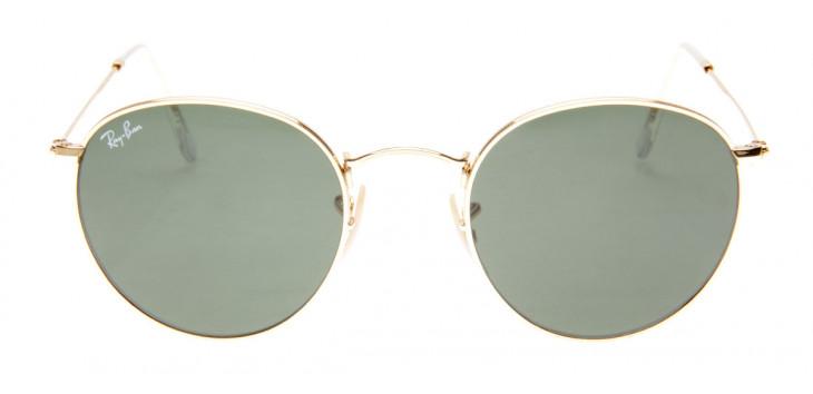 Óculos Ray-Ban Round RB3447 50 - Dourado - 001