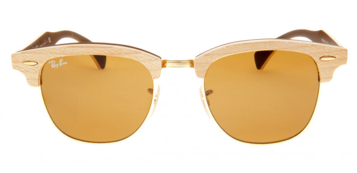 Ray Ban RB3016-M  51 - Bege e Madeira - 1179
