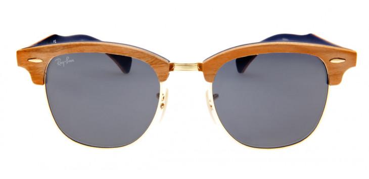 Óculos Ray-Ban Clubmaster Madeira