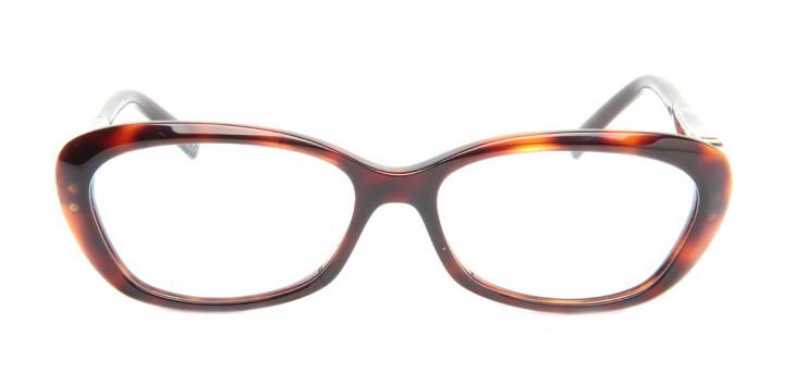 Óculos Ana Hickmann AH6185 53 Tartaruga Aro Fechado