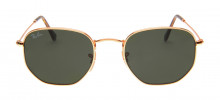 Ray Ban RB3548-N Hexagonal 54 - Dourado - 001
