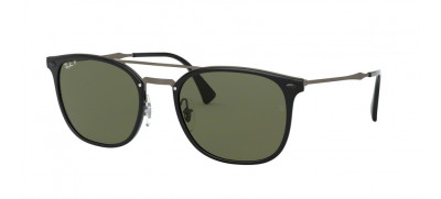 Ray-Ban RB4286 LightRay 55 - Preto - 601/9A