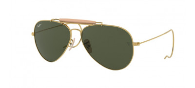 Ray-Ban RB3030 Outdoorsman 58 - Dourado - L0216