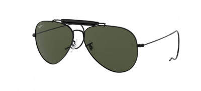 Ray-Ban RB3030 Outdoorsman 58 - Preto - L9500