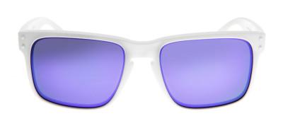 Oakley Holbrook- Branco Fosco / Violet Iridium - OO9102-05