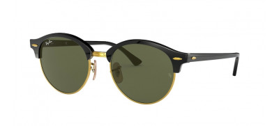 Ray Ban RB4246 Clubround  51 - Preto - 901