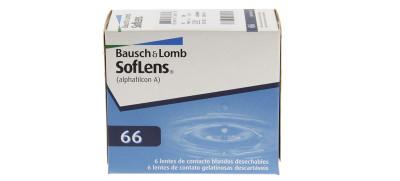 Lente de Contato Bausch & Lomb Soflens 66 - Incolor